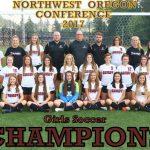 NWOC Girls Soccer Champions