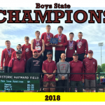 2018 BOYS TRACK STATE CHAMPIONS!