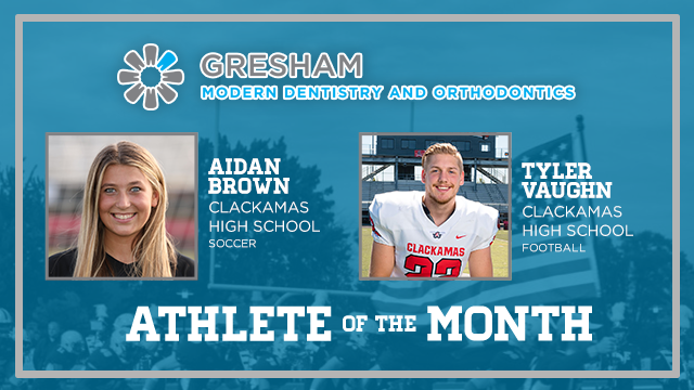 And the Gresham Modern Dentistry & Orthodontics November Athlete of the Month is….