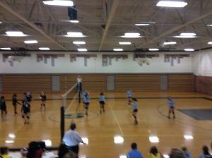 Volleyball and Men's Soccer at Shelby. Volleyball lost 3 sets to 2 and soccer lost 5-0