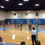 Volleyball vs. Chase 9-21-15 Lost 3 sets to 2