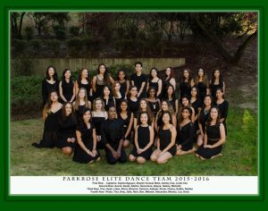 Dance Team – 2015-16 Team Pic