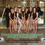 Girls Water Polo - 2015 Team Pic