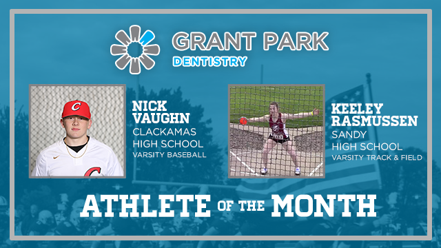 And the Grant Park Dentistry Athlete of the Month is….