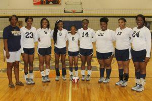 MCHS 2016 Volleyball Team