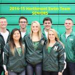 2014-2015 Northmont Swim Team Seniors