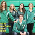 2014-2015 Northmont Swim Team Juniors