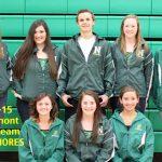2014-2015 Northmont Swim Team Sophomores