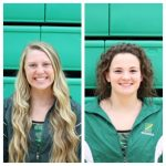 Gracey and Schreiber Set New School Records