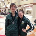 Pearce and Schreiber Medal at GWOC Divisional Swim Meet