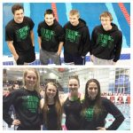 Swimmers Break 7 School Records at State District Swim Meet