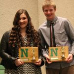 Kirby and Parrett Awarded Most Dedicated Swimmers