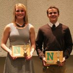 Bowers and Hapner Awarded Most Improved Swimmers