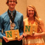 Pearce and Schreiber Awarded MVP in Swimming