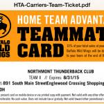 Buffalo Wild Wing Card —
