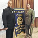 Coach Broering addresses Rotary