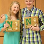 Parrett and Schreiber Named Most Valuable Swimmers