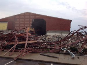 Old HS Gym — Falling Down Photo gallery
