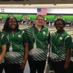 JV Girls Bowling improve record to 6-0 with win over Lebanon.