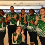 JV Girls Bowling Finish Season Undefeated
