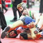 Knick competes at state wrestling tourney