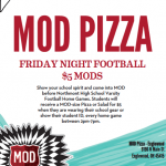 Friday HOME FB Night – MOD PIZZA $5.00