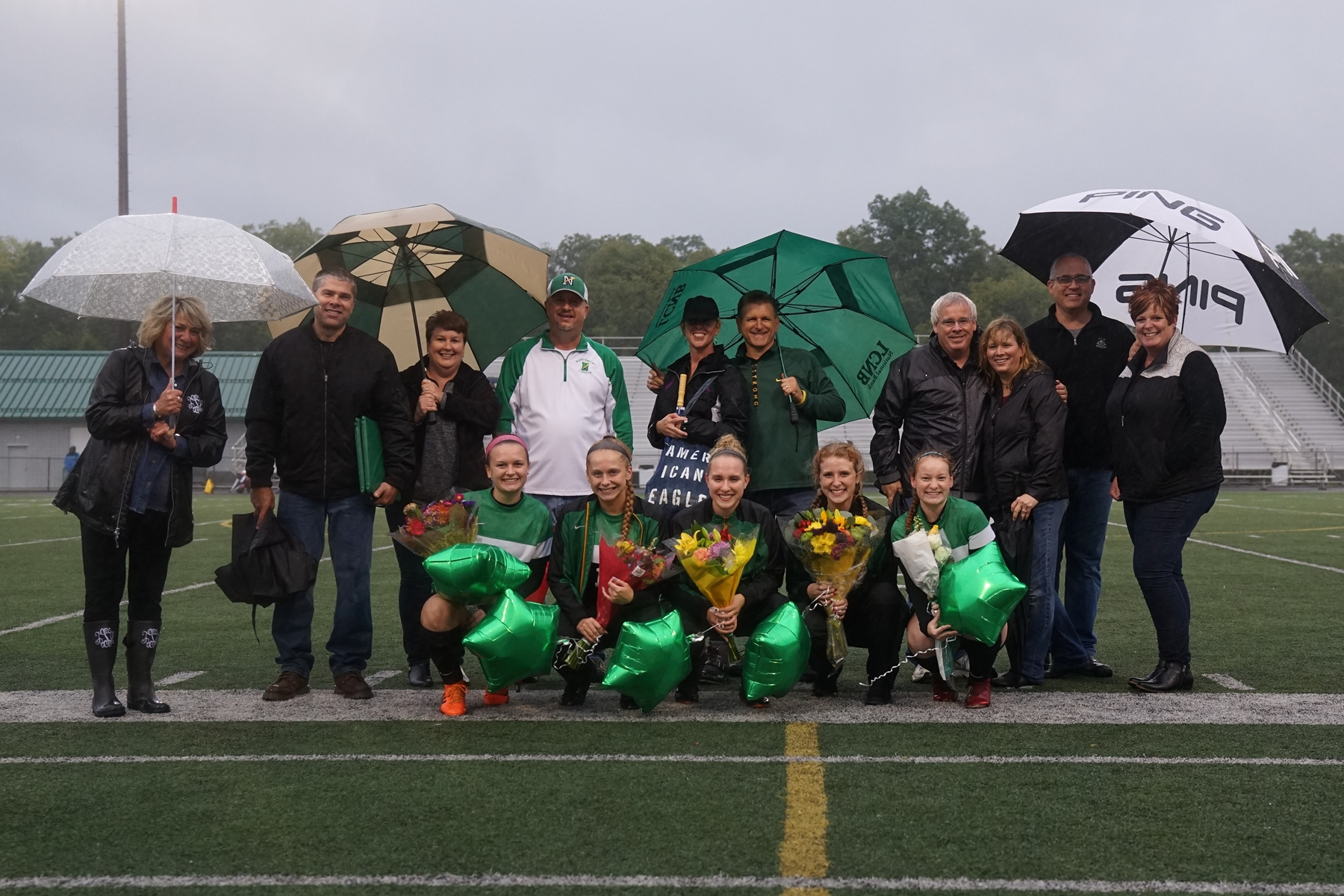 2018 Girls Soccer Senior Night