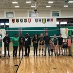 2018 Volleyball Senior Night