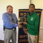 Rotary Athlete of the Month – Curtis Mallory