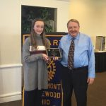 Rotary Athlete of the Month – Delaney Schmidt