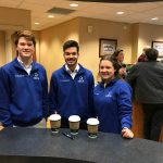 DECA members participate in Northmont Chamber Coffee Connection