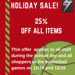 25% Off at Bolt Shop on 12/18 and 12/19