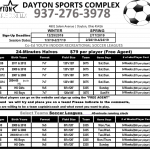Dayton Indoor Soccer Sign-Up