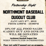 Texas Roadhouse — Dugout Club Fundraiser