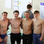 Boys Swimming Advances Seven to Districts
