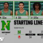 Northmont vs Richmond Lineup