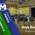 Boys BB at Miamisburg