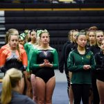 Gymnastics team places 13th at district