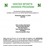 Winter Sports Program March 13