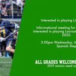 Lacrosse Informational Meeting