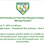 Baseball Information First Pitch Banquet