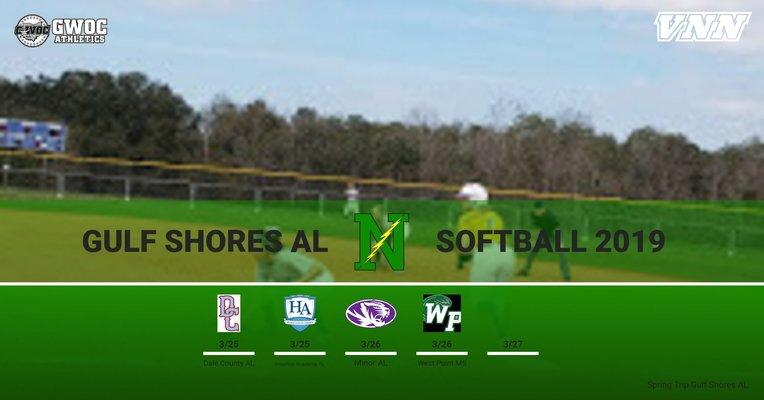 2019 Alabama Softball Schedule