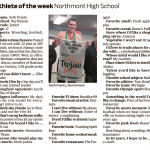 Seth Frantz – DDN Athlete of Week