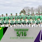 Baseball at Butler Thursday