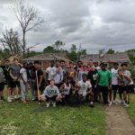 Football Team Helps Others