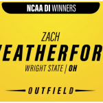 Gold Glove Award Zach Weatherford – NHS Graduate