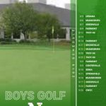 Boys 2019 Varsity Golf Schedule