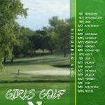 Girls Golf 2019 Schedule