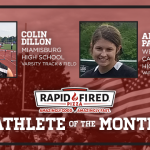 And the Rapid Fired Pizza June Athlete of the Month is….
