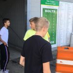 Boys Soccer and JV Girls Soccer Stadium Clean-Up Gallery